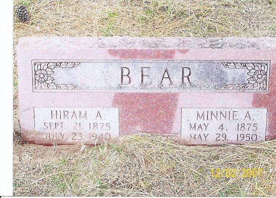 Hiram Arvada Harmin Bear