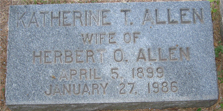 Katherine <i>Turner</i> Allen