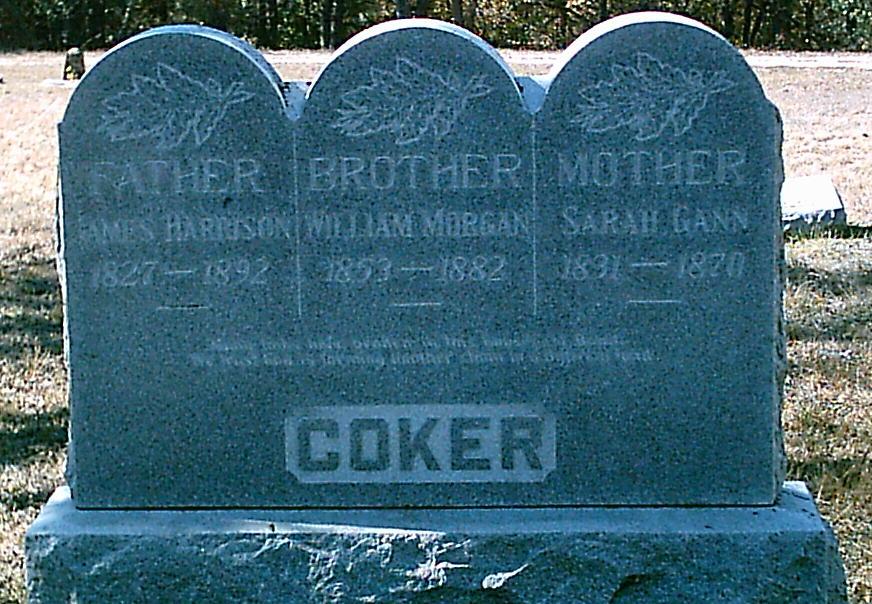 Sarah Jane <i>Gann</i> Coker