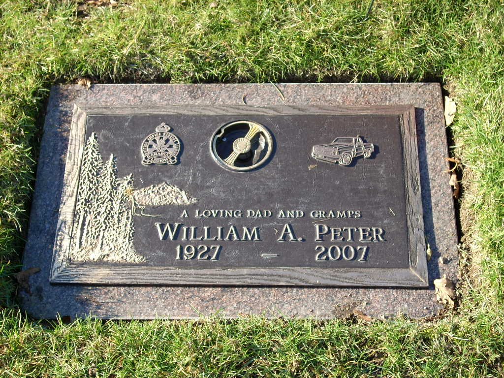 William Adam Bill Peter