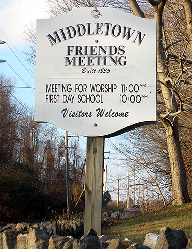 Middletown Friends Monthly Meeting Cemetery