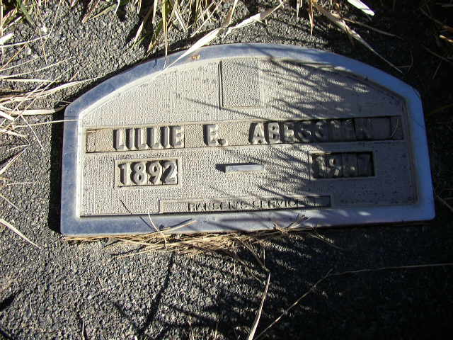 Lillian Edna Abegglen
