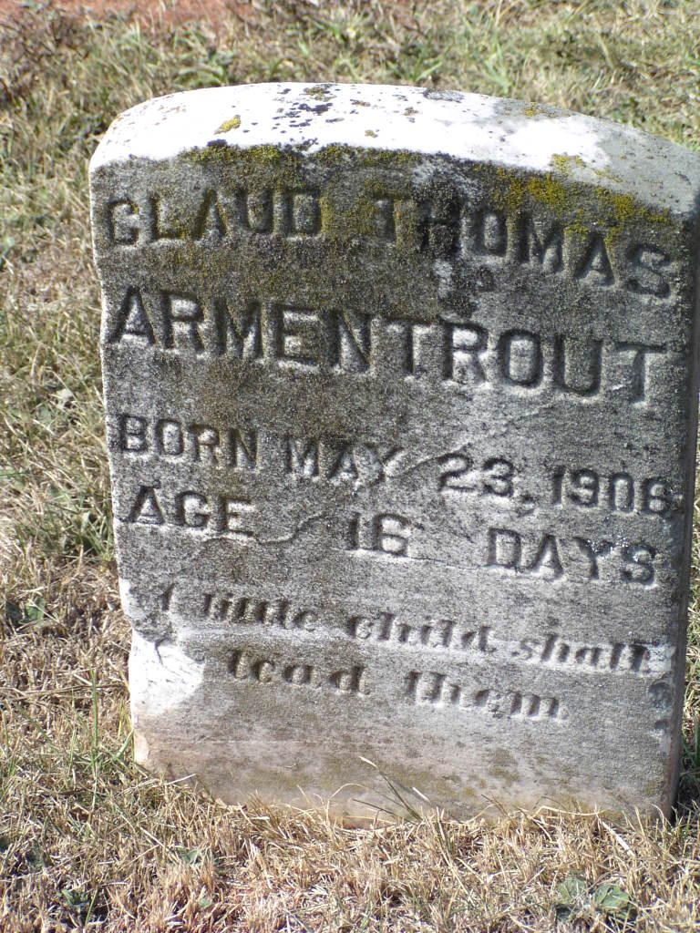 Claud Thomas Armentrout