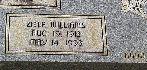 Ziela <i>Williams</i> Beaver