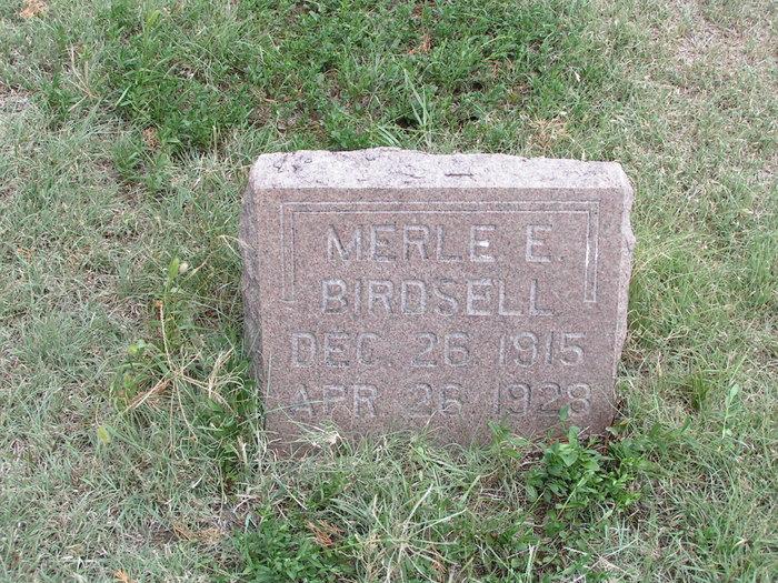 Merle E Birdsell
