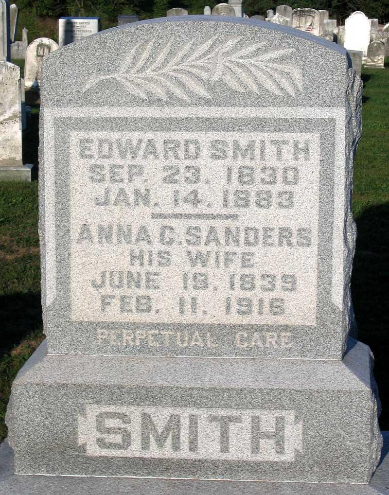 Anna C. <i>Sanders</i> Smith