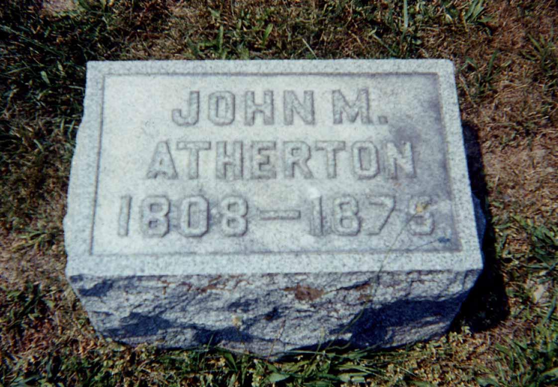 John M Atherton