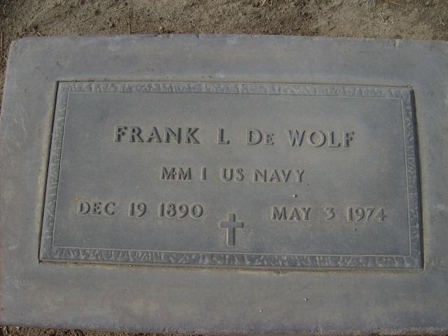 Frank Le Roy DeWolf