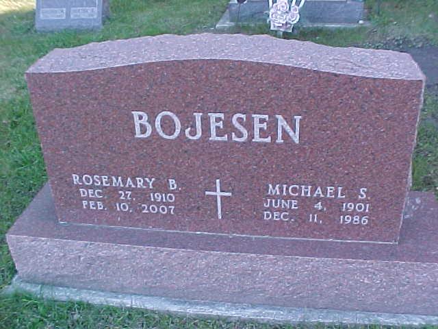 Rosemary B <i>Simpson</i> Bojesen