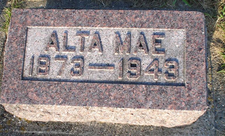 Alta Mae <i>Bowman</i> Zearley