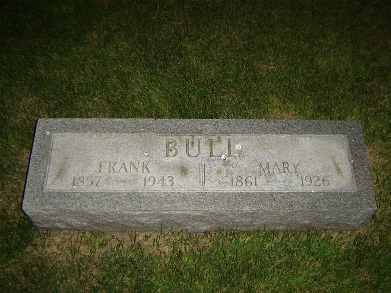 Edward Franklin Frank Bull