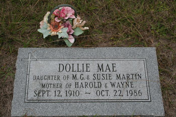 Dollie Mae <i>Martin</i> Hartsfield Watson Rutledge