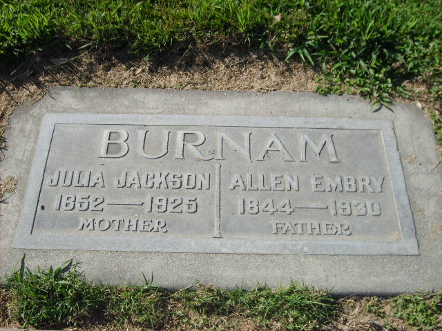 Julia <i>Jackson</i> Burnam