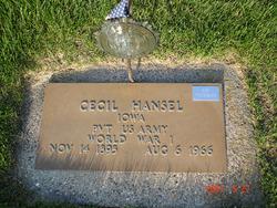 Cecil Hansel
