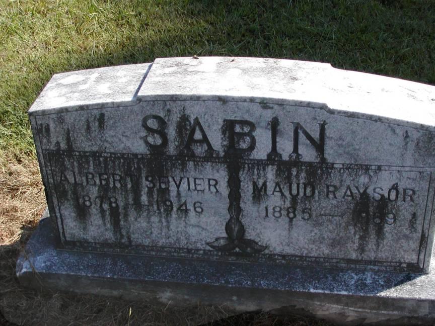 Emily Maud <i>Raysor</i> Sabin