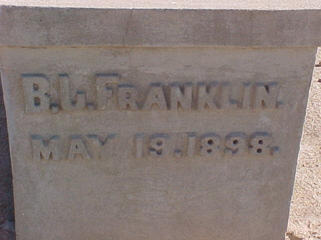 Benjamin Joseph Franklin