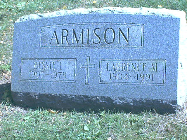 Bessie I. <i>Totten</i> Armison