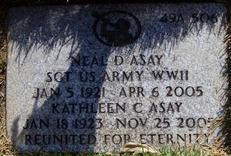Sgt Neal Decline Asay