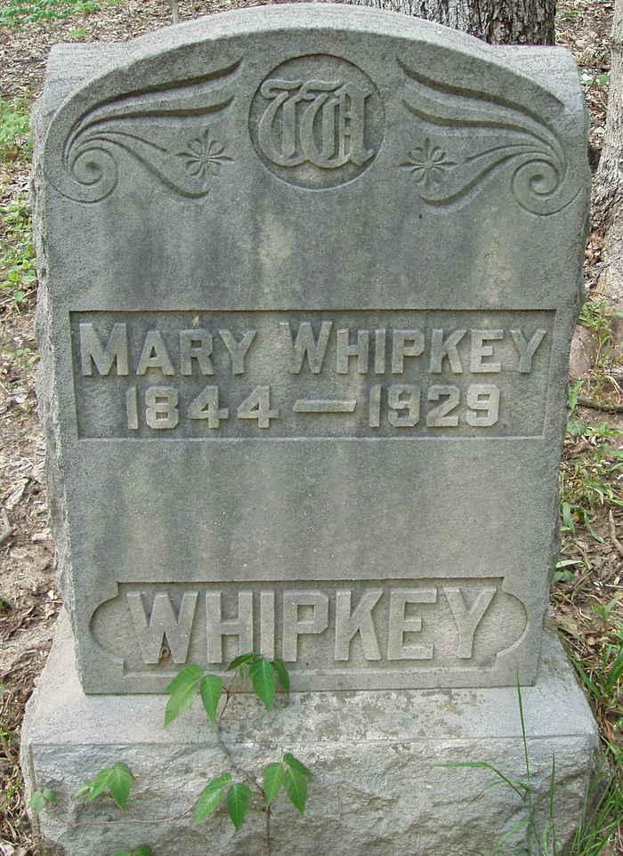 Mary <i>Bradshaw</i> Whipkey
