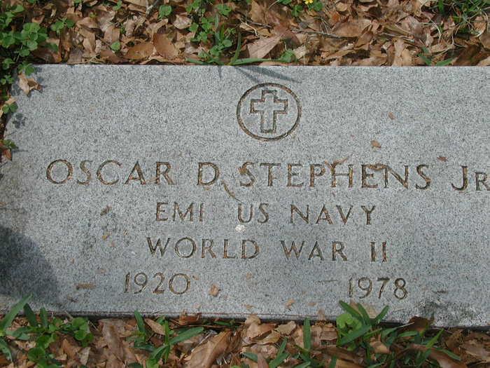 Oscar Deloney Stephens, Jr