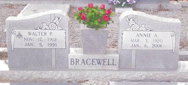 Annie Avis <i>McLendon</i> Bracewell