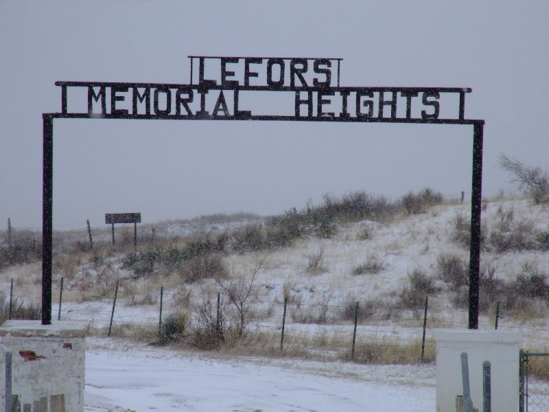 Lefors Memorial Heights Cemetery
