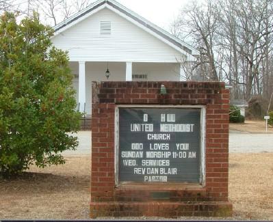 Oak Hill United Methodist Church Cemetery