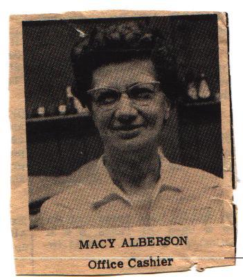 Mary Macie <i>Clayton</i> Albertson