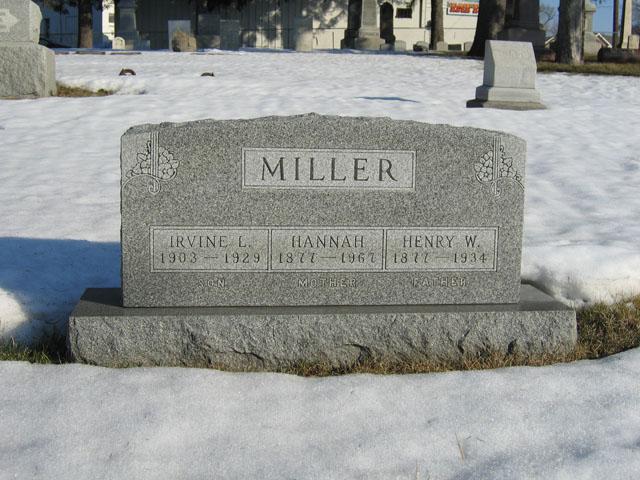Hannah <i>Rosenquist</i> Miller