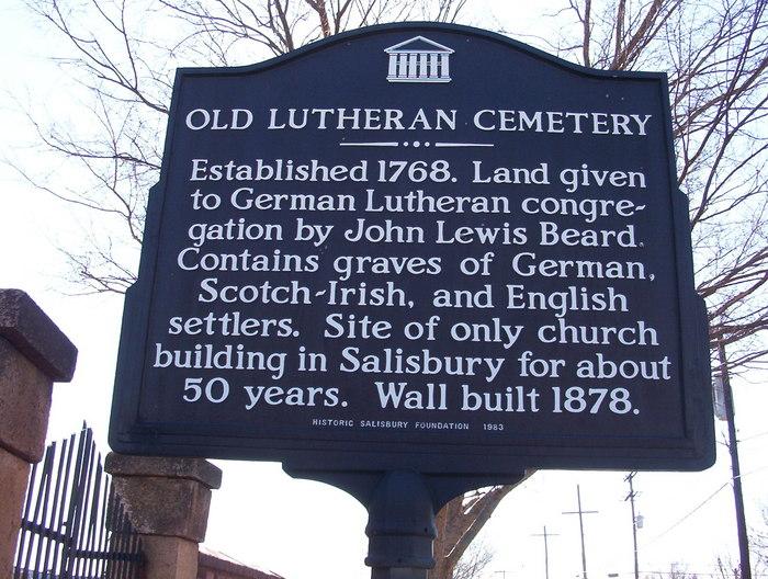 Old Lutheran Church Cemetery