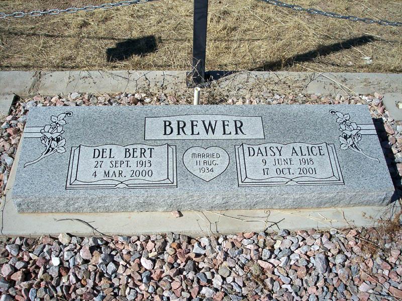 Daisy Alice <i>Hill</i> Brewer
