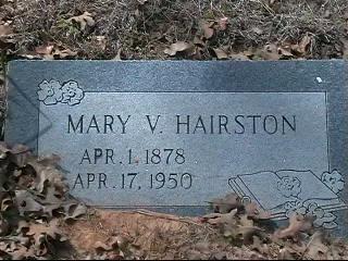 Mary Virginia Mollie <i>Rutherford</i> Hairston