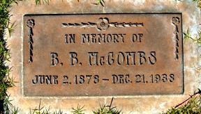 Bunion B McCombs