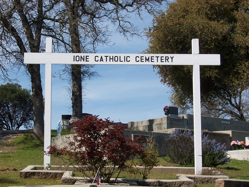 Ione Catholic Cemetery
