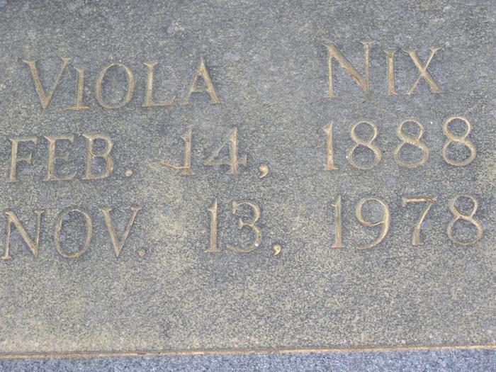 Viola Nix