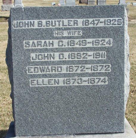 Sarah Jane <i>Christopher</i> Butler