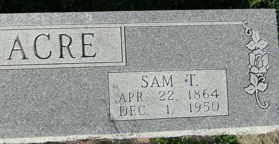 Samuel Thomas Acre