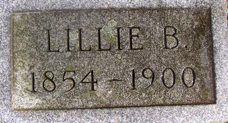 Lillie B <i>Hoyt</i> Ketchum