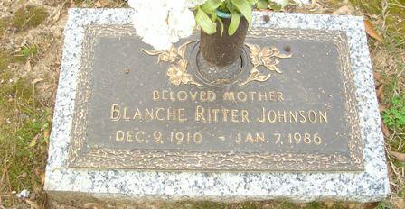 Blanche <i>Ritter</i> Johnson