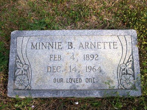 Minnie <i>Bailey</i> Arnette