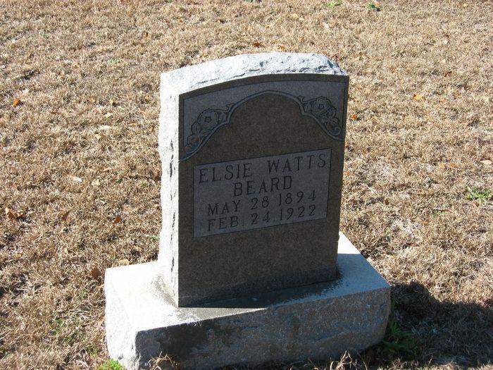 Elsie Leola <i>Watts</i> Beard