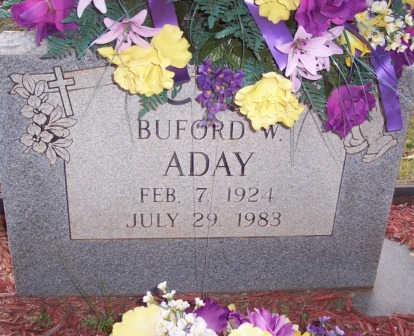 Buford W Aday