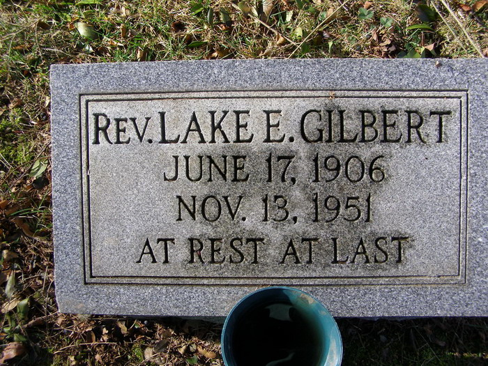 Rev Lake Edgar Gilbert
