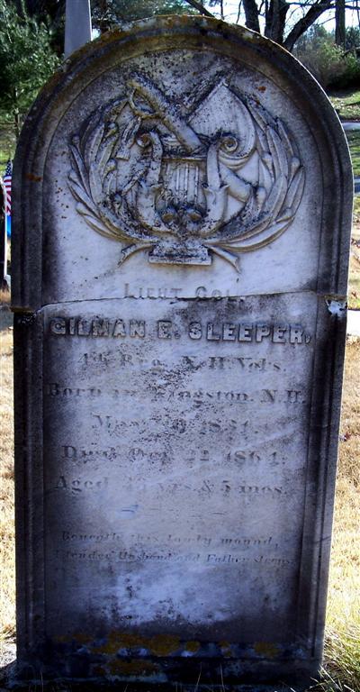 LTC Gilman E. Sleeper