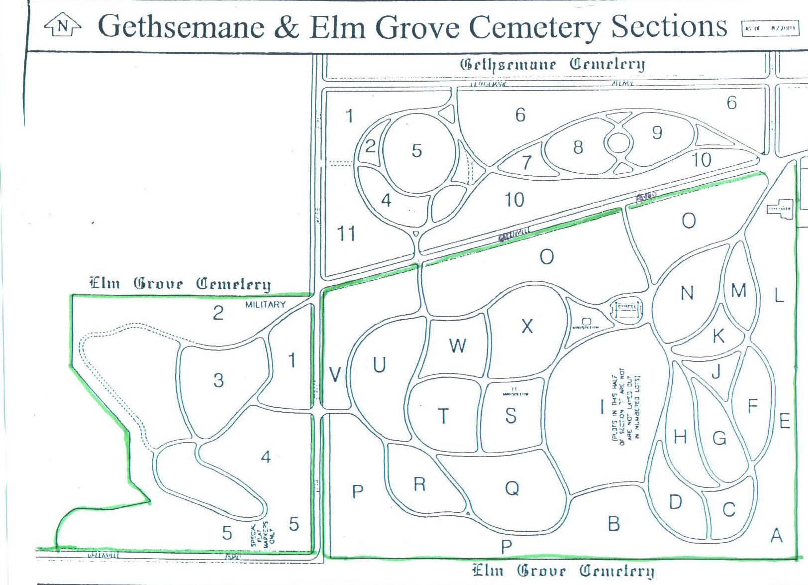 Gethsemane Catholic Cemetery