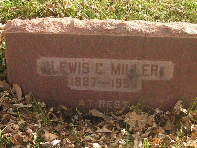 Rev Lewis C. Miller