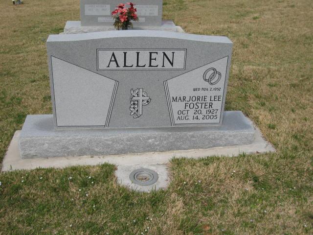 Marjorie Lee <i>Foster</i> Allen