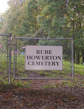 Rube Howerton Cemetery