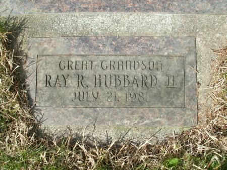 Ray VanRannsler Hubbard