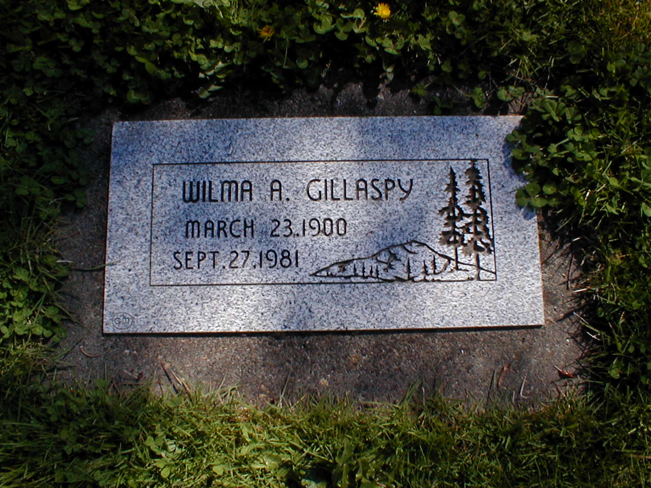 Wilma Aileen <i>Oden</i> Gillaspy